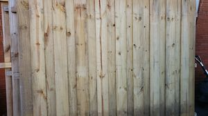6ft tall and 8ft wide private fencing for Sale in Charlotte, NC