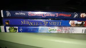 Christmas DVD bundle for kids for Sale in Montclair, CA
