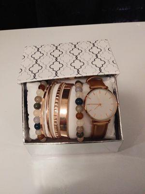 Watch & Bracelet gift set new in box for Sale in Rowlett, TX
