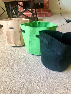 Potato tomato growing bags for Sale in Needham, MA