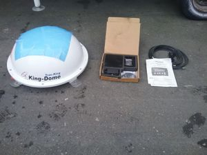 Trac-King in-motion Satellite System for Sale in Tacoma, WA