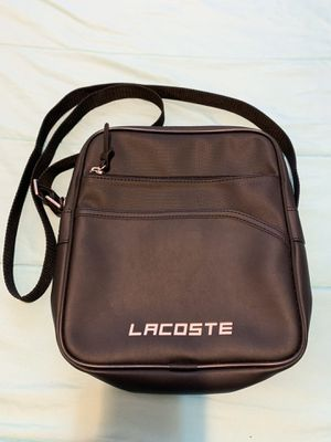 Lacoste crossbody messenger bag unisex for Sale in Los Angeles, CA