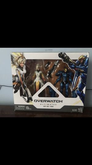 Over watch Ultimates Series Pharah and Mercy collectibles action figures for Sale in Stroudsburg, PA