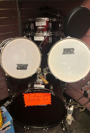 TKO 6pc drum set I-971 for Sale in Louisville, KY