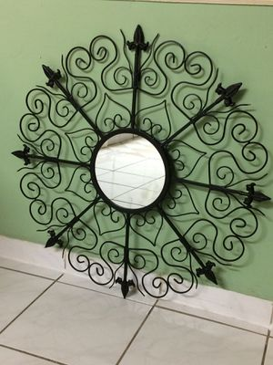 Mirrored metal wall decor. for Sale in North Bay Village, FL