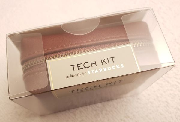 PINCH Wired Emergency Tech Kit in Brown Leather Case - NEW!