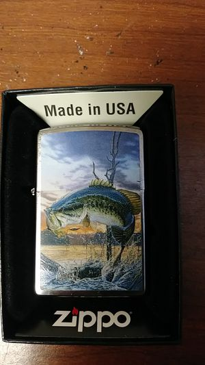 """Zippo lighter...Brand new in the box...Al Agnew Collection """"Legendary Strikes"""" for Sale in Houston, TX"""
