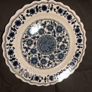 Vintage blue/white platter - 16 inch for Sale in Hayward, CA