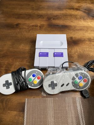Super Nintendo Classic Console with over 600+ Games Installed. Brand New for Sale in Houston, TX
