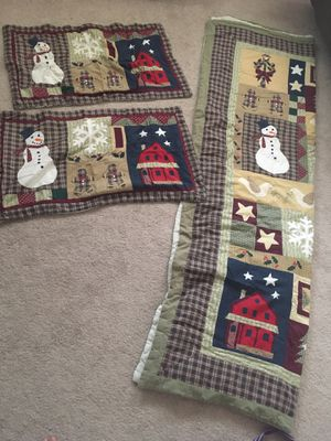 King Primitive Quilt and Shams for Sale in French Creek, WV