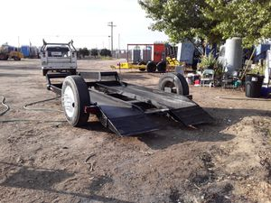 Tractor forklift trailer for Sale in Reedley, CA