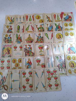 Cartas españolas y de ángeles for Sale in Miami, FL