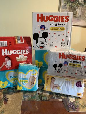 Diapers For Sale!! $100! Or best offer! for Sale in Colton, CA