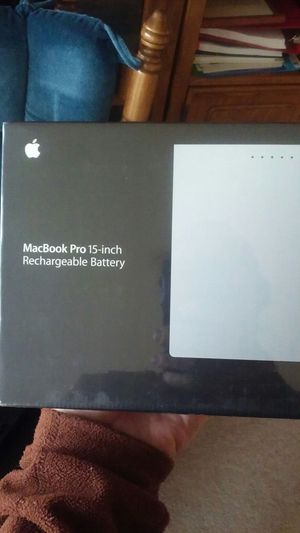 MacBook Pro 15-inch rechargeable battery for Sale in Seattle, WA