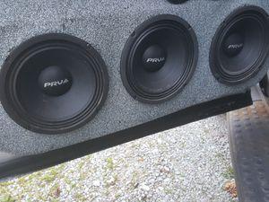 8 prv mb450 8 inch mids for Sale in Greensburg, PA