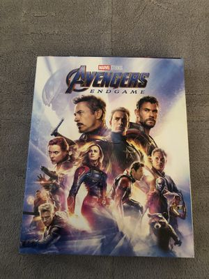 Marvel Studios Avengers Endgame 3 Disc Blu-ray Set w/ Booklet Target Exclusive for Sale in Tampa, FL