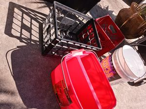 Bucket an basket each for Sale in Lake Worth, FL