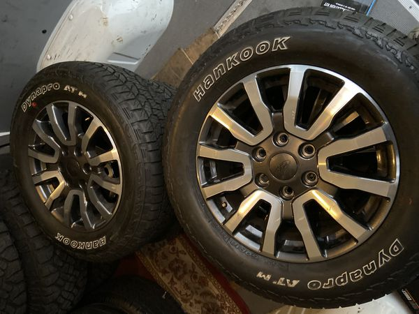"18"" new ford ranger rims and tires 265/60/18"