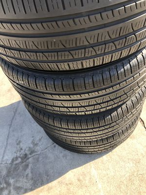 Pirelli scorpion verde 235/60/18 set of 4 tires for Sale in Stockton, CA