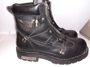 Harley Davidson motorcycle boots for Sale in Nipomo, CA