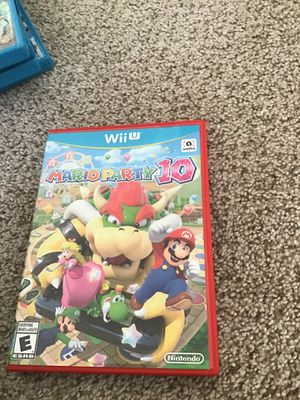 Mario party 10 for Sale in Grapevine, TX