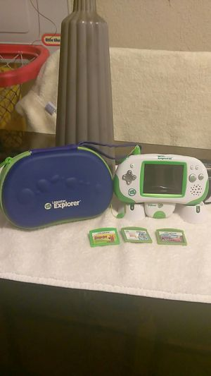 Leap Frog! Leapster Explorer! w/3 games! for Sale in San Diego, CA