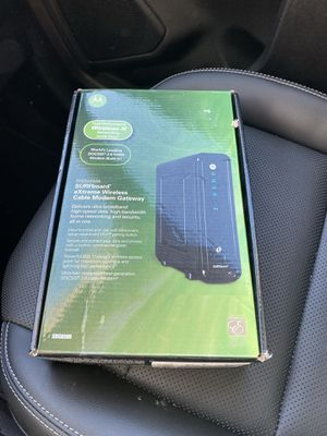 MOTOROLA WIRELESS CABLE MODEM for Sale in Chicago, IL