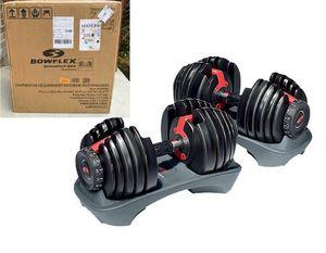 Bowflex SelectTech 552 Adjustable dumbbell set for Sale in Florham Park, NJ