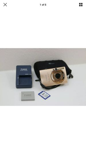 Canon PowerShot Digital ELPH SD1100 IS Camera 8 mega pixels With 32MB SD Card for Sale in Olympia, WA