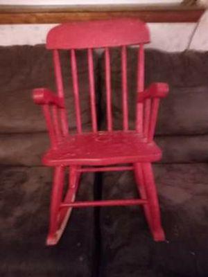 Kids rocking chair for Sale in Van Buren Bay, NY