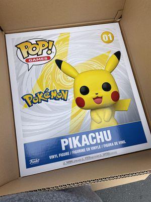 "18"" funky pop pikachu for Sale in Bremerton, WA"