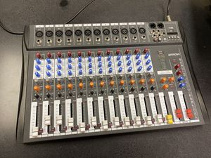 ammoon 12 Channels Mixer Mic Line Audio Mixing Console USB XLR Input 3-band EQ 48V Phantom Power with Power Adapter for Sale in Chicago, IL