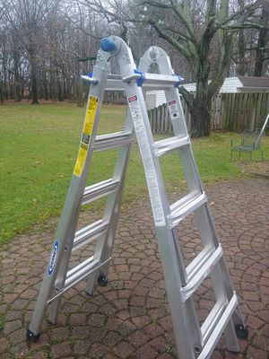 Werner 22' Little Giant Foldable Extension Ladder for Sale in Parma, OH