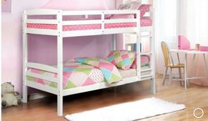 White twin/twin bunkbed whit mattress included for Sale in Hollister, CA