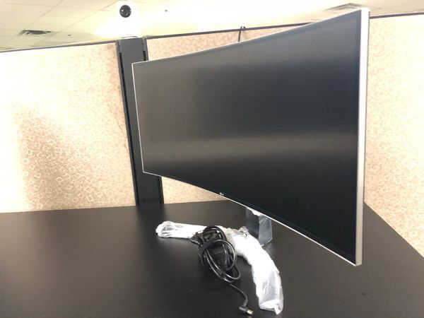 "LG 34"" - one curved or flat - each"