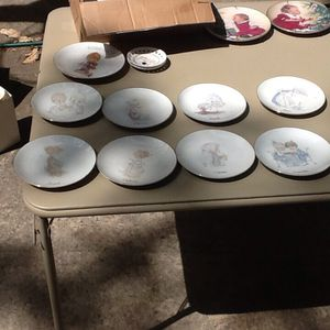 Precious moment plates for Sale in Freehold, NJ