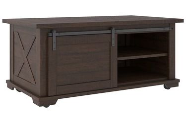 NEW, WEATHERED OAK COLOR COFFEE TABLE, SKU#TC283. for Sale in Westminster,  CA