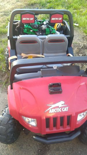 Kids ride on motorized jeep with battery for Sale in Philadelphia, PA