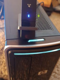 HP Desktop With Wifi + Monitor + Mouse + Keyboard for Sale in Portland,  OR
