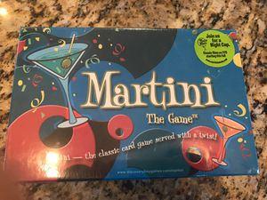 New unopened - Martini the game. for Sale in Graham, WA