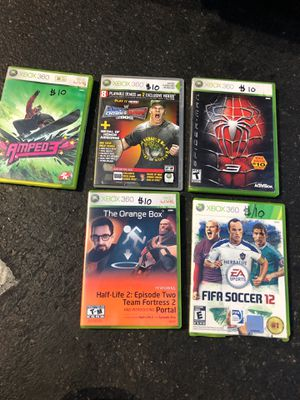 Games Xbox 360 $ 10 each for Sale in Oakland, CA