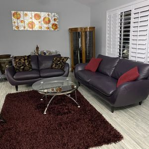Beautiful Italsofa Sofa And Loveseat Set for Sale in Scottsdale, AZ