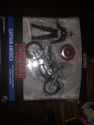 Marvel legend civil war captain America for Sale in Columbus, OH