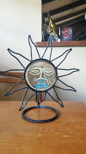 Iron sun Candle holder for Sale in Garden Grove, CA