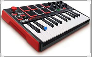 AKAI MINI MPK MKII MK2 MIDI KEYBOARD CONTROLLER PROFESSIONAL STUDIO USB MUSIC PRODUCTION for Sale in Queens, NY