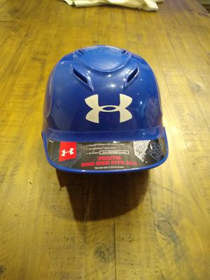 Youth Under Armor baseball batters hard hat for Sale in Olympia, WA
