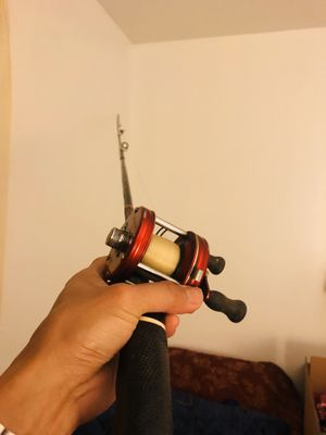 fishing reel and rod trolling for Sale in Fort Washington, MD