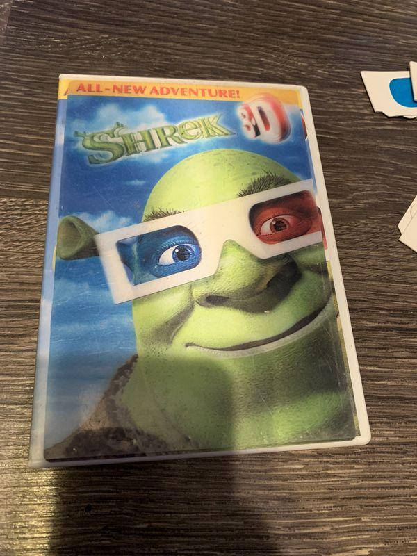 Shrek 3-D movie