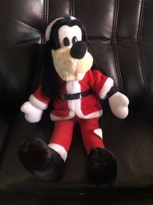 "Walt Disney VERY NICE CHRISTMAS GOOFY SANTA CLAUSE 18"" Plush STUFFED ANIMAL Toy for Sale in Hayward, CA"