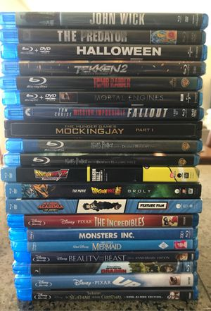 21 Blu-ray Movies for Sale in Ridgefield, WA